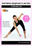 Barlates Beginners Series 12 Workouts 3 DVD Set - Barlates Body Blitz - DVD-R