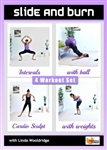 Slide and Burn 4 Workouts - Barlates Body Blitz - DVD-R