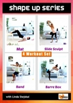 Shape Up Series 4 Workouts - Barlates Body Blitz - DVD-R