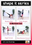 Shape It Series 4 Workouts - Barlates Body Blitz - DVD-R