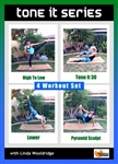 Tone It Series 4 Workouts - Barlates Body Blitz - DVD-R