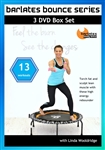 Barlates Bounce Series 13 Workouts 3 DVD Set - Barlates Body Blitz - DVD-R