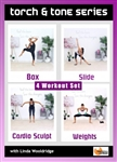 Torch and Tone Series 4 Workouts - Barlates Body Blitz - DVD-R