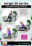 Target 20 Series - 10 Workouts on 2 DVDs - Barlates Body Blitz - DVD-R