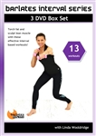 Barlates Interval Series 13 Workouts 3 DVD Set - Barlates Body Blitz - DVD-R