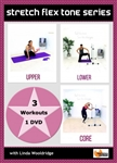 Stretch Flex Tone 3 Workouts - Barlates Body Blitz - DVD-R