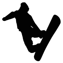 Laptop Decals-Sports-Snowboarding