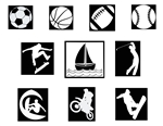 Laptop Decals-Sports