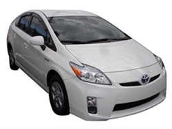 Side Window Deflectors for 2010-2014 Toyota Prius