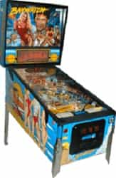 Baywatch Pinball Machine
