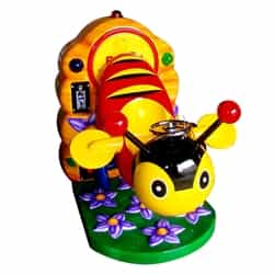 Flower Bee Coin Operated Ride