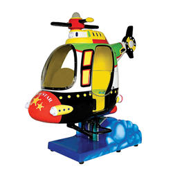 Super Helicopter Kiddie Ride