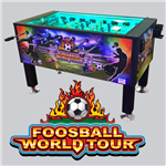 World Tour - Coin Operated Foosball Table