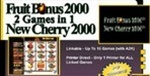 Cherry Masters Fruit Bonus 2000