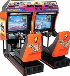 Used Daytona USA Driving Arcade
