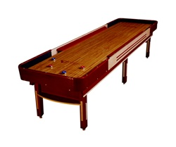 12' Grand Deluxe Cushion Shuffleboard Table- Venture