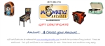 Monkeys Arcades Gift Certificates