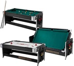 Fat Cat Black 7' Pockey Table 2 in 1 Game Table