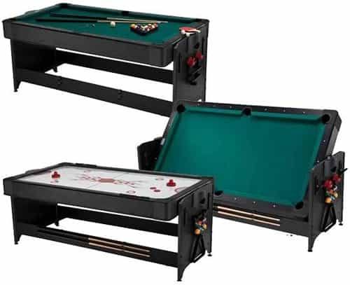 Perfect Fat Cat Black 7u0027 Pockey Table 3 In 1 Game Table