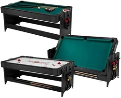 Fat Cat Black 7' Pockey Table 3 in 1 Game Table