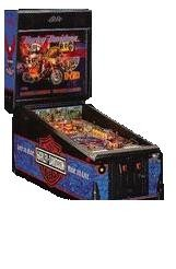 Harley Davidson Pinball Machine-1991 Bally (Pre-Played)