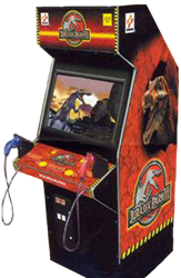 Jurassic Park III Upright Arcade (Pre-Played)