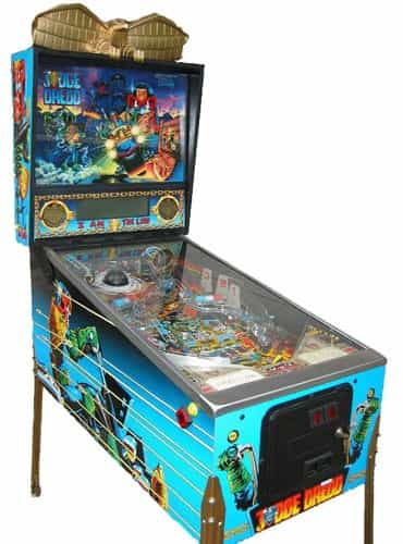 factory outlet picked up sale Judge Dredd Pinball Machine-1993 Bally (Pre-Played)