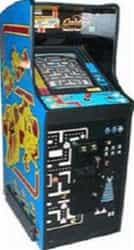 Ms. Pacman, Galaga and Pacman