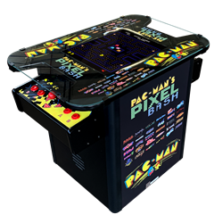 Pac-man's Pixel Bash Cocktail Arcade - Home Version (Black Finish)