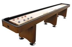 12' Woodbridge Shuffleboard - Honey Finish