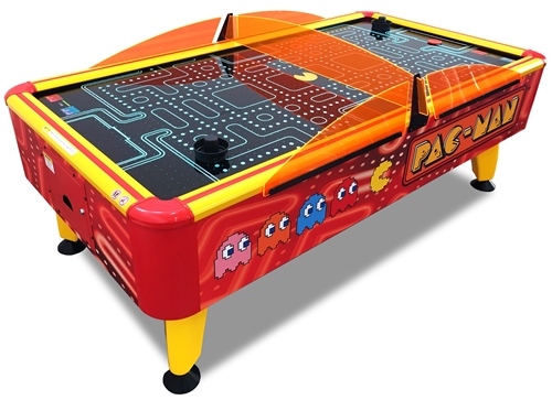 Pacman Table Game >> Pac Man Air Hockey