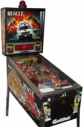 Pre-Played Rescue 911 Pinball Machine