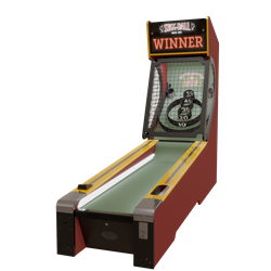 Skee-Ball Classic Alley 10' Game - Coin Op Version