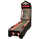 Skee-Ball Glow Alley 10' Game - Coin Op Version