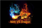 Kirin vs Dragon - Game Board