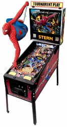 Spider Man Pinball Machine- 2008 Stern (Pre-Played)