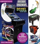 Monkeys Arcades Ultimate Game Room Package