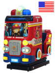 Fire Rescue Kiddie Ride