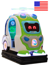 Robo Sweep Kiddie Ride