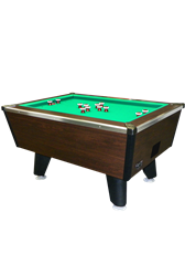 Tiger Cat Bumper Pool Table