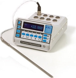 Asl F200 Precision Digital Calibration Thermometer For Prt Rtd Probes