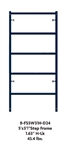 "3' X 6'7"" Waco Blue B-Size Ladder Frame (H-Lock)"