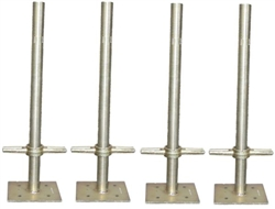 1-1/4  Scaffolding Screw Jack with Base Plate