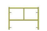 C-Size Scaffold Step Frame 3'W x 3'H