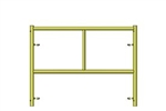 "C-Size Scaffold Step Frame 42""W x 3'H"