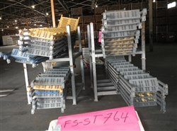 "Steel Scaffold Stair Unit 7' Bay 6'4"" (USED)"