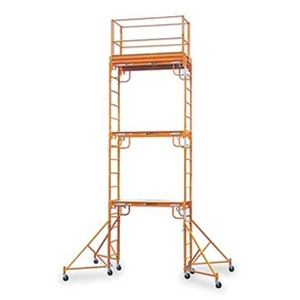 Interior Scaffold Baker Adjustable Stairs