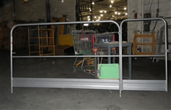 Scaffolding Guard Rail 6' Unit Snappy