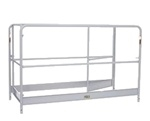 Snappy 6' Scaffold Guard Rail Set