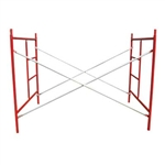 "5' x 5'1"" Masonry Scaffolding W-Style Frame Package"